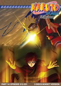 Naruto Shippudden TV Part 14 (3 discs)