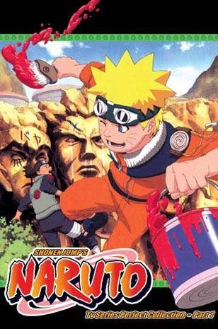 Naruto TV Part 1 (3 discs)
