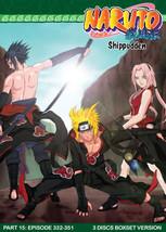 Naruto Shippudden TV Part 15 (3 discs)