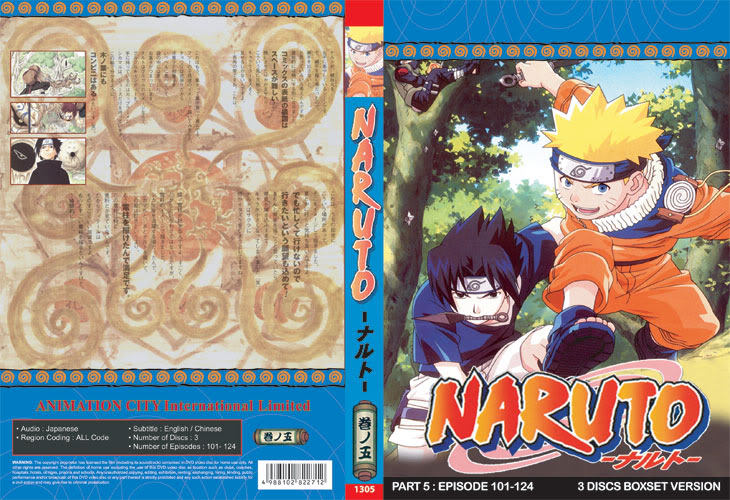 Primary image for Naruto TV Part 5 (3 discs)