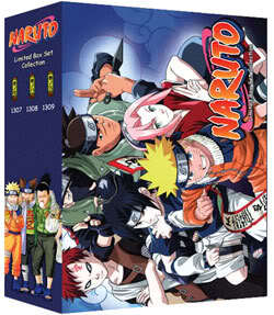 Naruto TV Part 7-9 Limited Edition (9 discs)