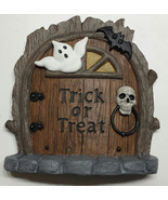 Halloween Fairy door, mouse door, Gnome door, Halloween decoration - $10.00