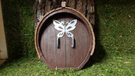 Fairy door, mouse door, Gnome door, Garden decor for Miniature Fairy Gar... - $12.00