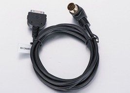 KENWOOD MP3 AUX IN CABLE TO iPOD IPHONE REF KCA... - $9.90