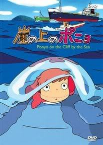 Ponyo On the cliff by the Sea (1 disc)