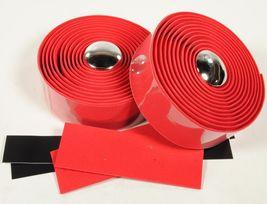 Road Bike Cork Handlebar Tape Bicycle Bar Wrap Red - €20,56 EUR