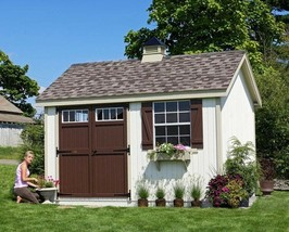 She Shed Woman Cave 10 ft X 12 ft Wooden Storage Shed PreAssembled Panel... - $7,940.13