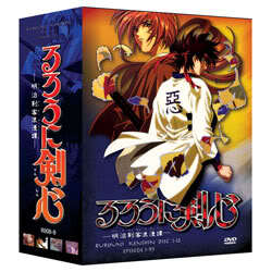 Primary image for Rurouni Kenshin TV Limited Edition (12 discs)