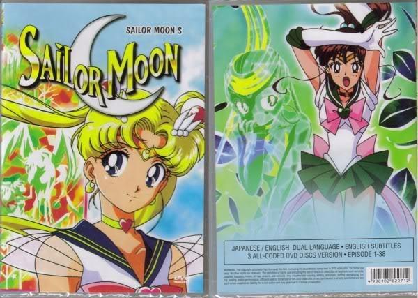 Sailor Moon S (3 discs)