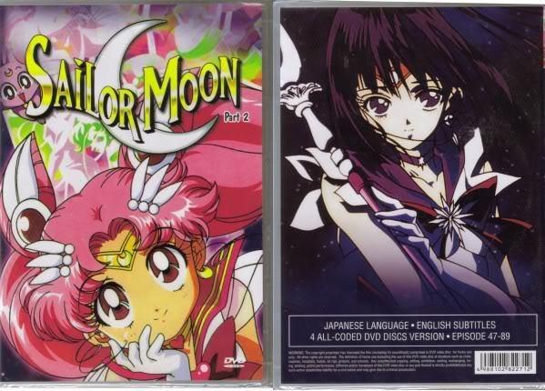 Sailor Moon Uncut Season 2 (4 discs)