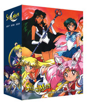 Sailor Moon Limited Box 1 (9 discs)