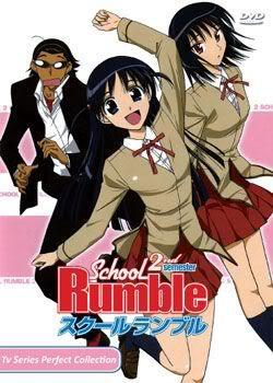 School Rumble 2nd Semester (3 discs)