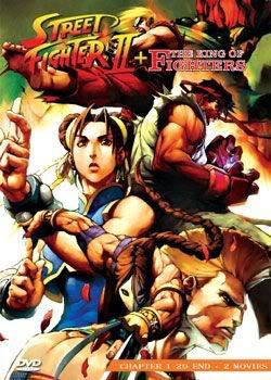 Street Fighter II + 2 Movie (2 discs)