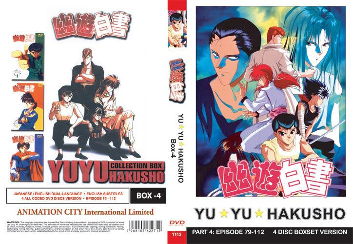 Yu Yu Hakusho TV Part 4 (4 discs)