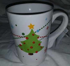CALIFORNIA PANTRY MUG Mugs CHRISTMAS tree by Julie Scott new - $11.30