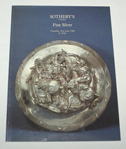 Sotheby's Catalogue London Fine Silver 14 June 1984 - $10.99