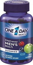 One A Day Men's Vitacraves, 70 Count - $17.23