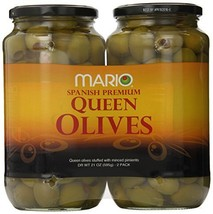 Mario Stuffed Queen Olives, 42 Ounce - $29.26