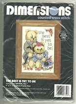 Dimensions Counted Cross Stitch Bears Best Is Yet To Be - $12.86