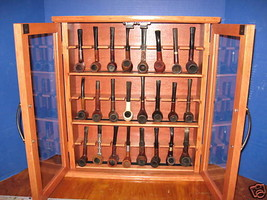 Pipe rack cabinet 24 Pipe Rack Display Cabinet ... - $249.99