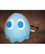 "PACMAN BLUE GHOST INKY New Licensed Plush Stuffed with Tags 8"" Toy Facto... - $25.00"