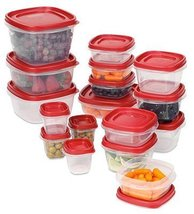 Rubbermaid 1779216 Easy Find Lid Set, 34 Piece - $56.23
