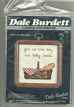 Dale Burdett Cross Stitch Kit Give Us This Day Our Daily Bread - $12.86