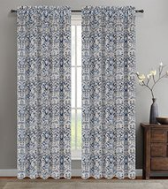 Urbanest 50-inch by 63-inch Set of 2 Jacquard Vine Drapery Curtain Panel... - $23.75