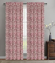 Urbanest 50-inch by 63-inch Set of 2 Jacquard Vine Drapery Curtain Panel... - $31.88 CAD