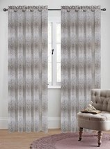 Urbanest 50-inch by 96-inch Set of 2 Jacquard Metro Drapery Curtain Pane... - $29.69
