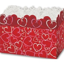 Layered Hearts Gift Basket Boxes - 12 Count - $23.50