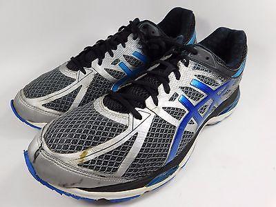 Asics Gel Cumulus 17 Men's Running Shoes Sz US 14 M (D) EU 49 Silver Blue T5D3N