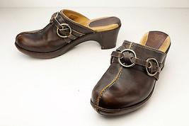 Frye 6 Brown Mules Women's Shoes - $89.00