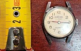 Vintage Cardinal 21 Jewels Watch - Functional - $7.54