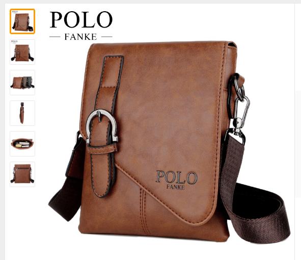 0. 0. Previous. FANKE POLO Men s Shoulder Bags Fashion Brand Crossbody Male  Messenger Bag · FANKE ... 2554fc58c3261