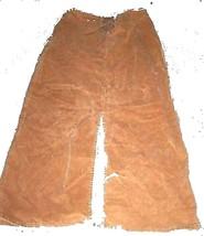 St. John's Bay Gold Corduroy Skirt w/Long Slit up front Sz M - $28.49