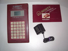 MONTY PLAYS SCRABBLE Hand Held Electronic Game ... - $16.99