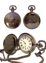 Pocket Watch FullMetal Alchemist Ed Replica GE7705 NEW! - $29.99