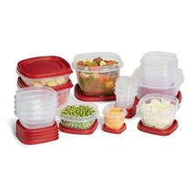 Rubbermaid Plastic Easy Find Lid Food Storage Set, 34-Piece, 1779216 - $44.50