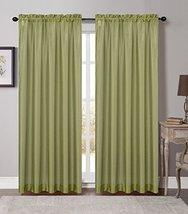 Urbanest 54-inch by 84-inch Set of 2 Soho Sheer Drapery Curtain Panel, G... - $21.77