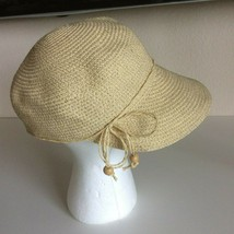 August Hat Company Gold Glitter Sun Hat Paper Straw - €17,93 EUR