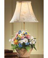 Floral Basket Desk And Table Lamp - $23.95