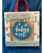 Silli Chews Christmas Baby's First Teether 3 Month *NEW* ff1 - $6.99