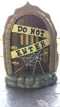 Halloween Fairy door, mouse door, Gnome door, Halloween decoration - £7.51 GBP
