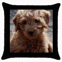 Goldendoodle Throw Pillow Case - Dog Puppy - $16.44