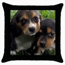Beaglier Throw Pillow Case - Dog Puppy - $16.44