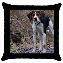 English Foxhound Throw Pillow Case - Dog Puppy - $16.44