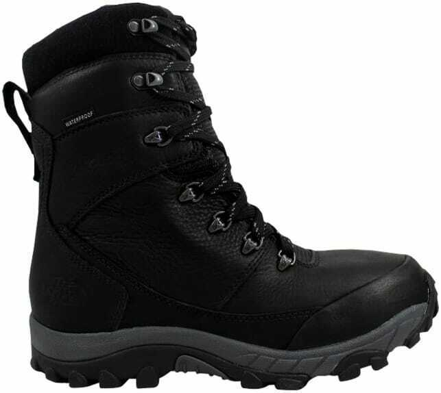 The North Face Chilkat Leather Insulated Tall Black Zinc