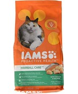 Iams Proactive Health Adult Hairball Care Dry Cat Food With Chicken And ... - $7.97