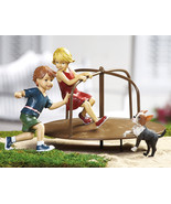 4pc. Merry-go-round Kids Garden Figurines - $21.95